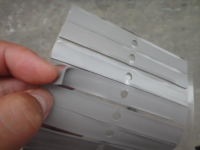 导热硅胶片冲孔