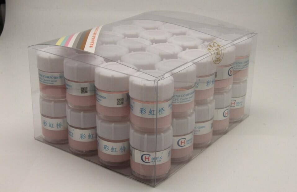 精美吸塑盒装粉红色导热膏